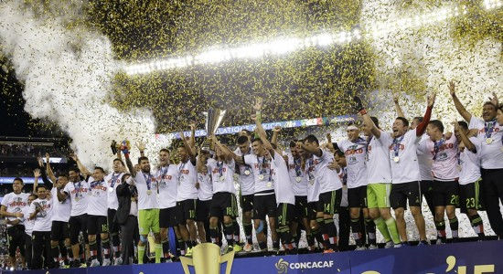 Mexico Winner Concacaf Cup