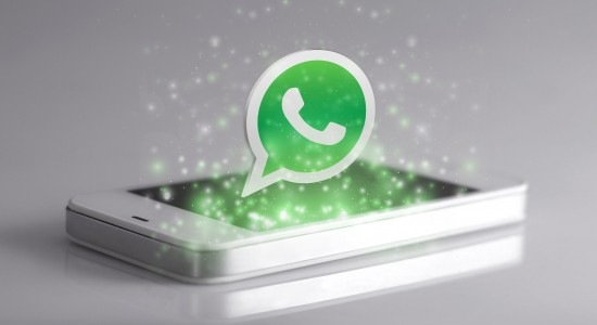 57066569 - johor, malaysia - jan 1, 2016: smartphone with 3d whatsapp icon. whatsapp is famous instant messaging application for smartphones, jan 1, 2016 in johor, malaysia.