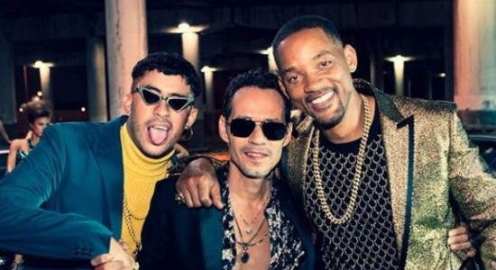 Dotusnews - Will Smith, Mark Anthony y Bad Bunny